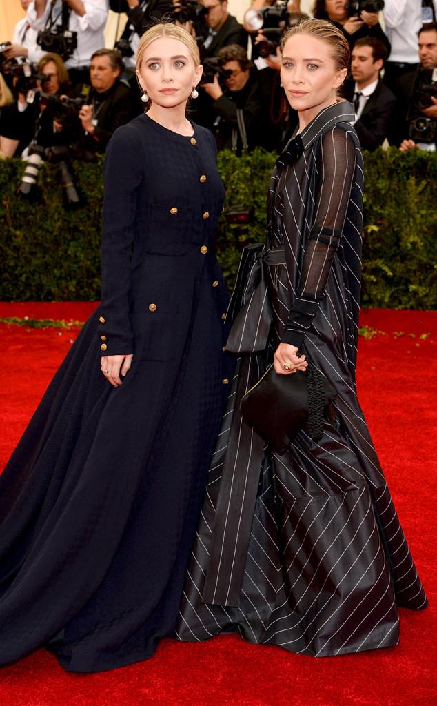 Mary-Kate Olsen, Ashley Olsen, MET Gala