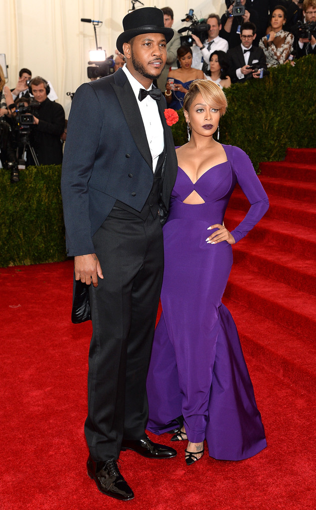 Carmelo Anthony, LaLa Anthony, MET Gala