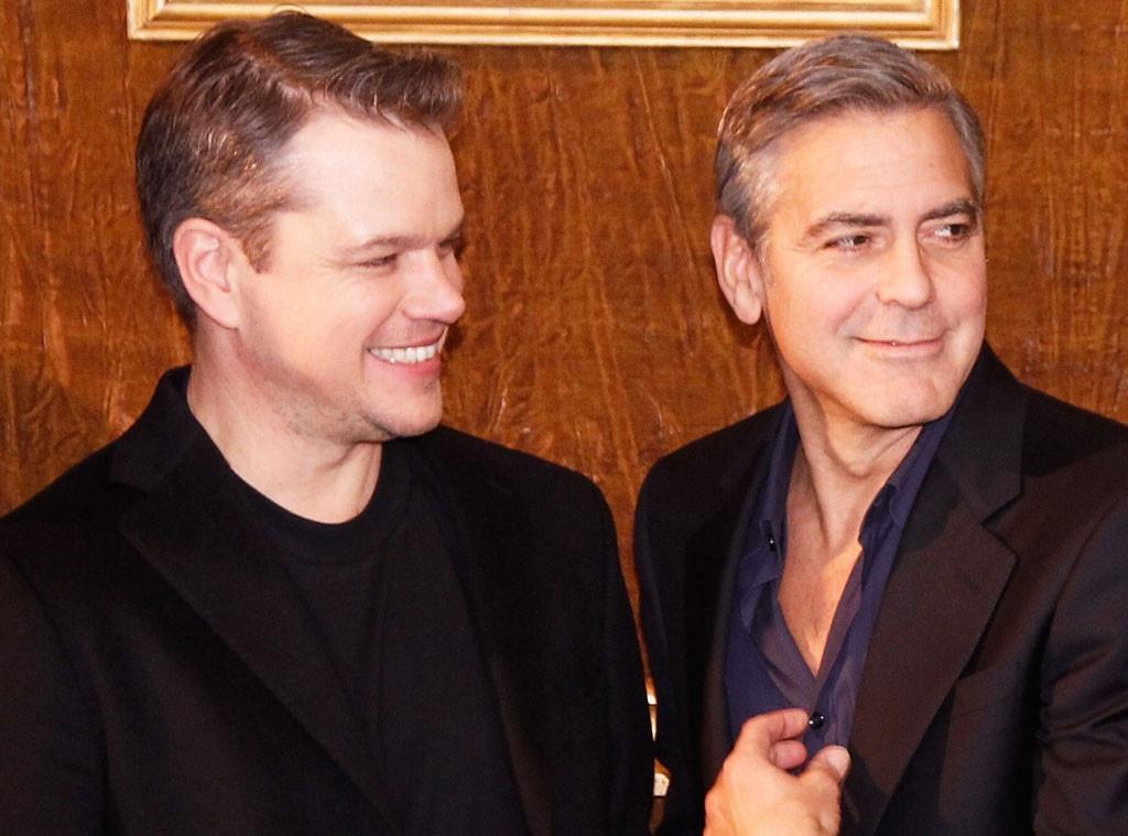 Matt Damon, George Clooney