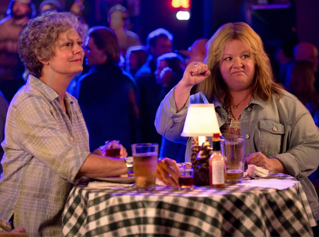 Tammy  -  McCarthy served as the film's screenwriter and executive producer in  Tammy . She also plays the titular character, who, after being fired from her job, comes home early to find out her husband is having an affair.