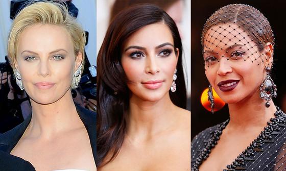 Charlize Theron, Kim Kardashian, Beyonce, MET Gala, Beauty