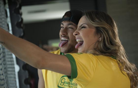 Claudia Leitte e Neymar