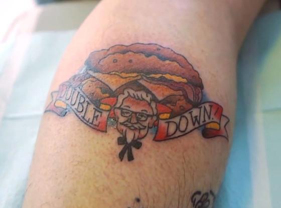 KFC Tattoo