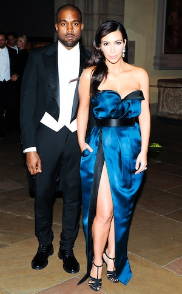 Kim Kardashian, Kanye West, Met Gala After Party