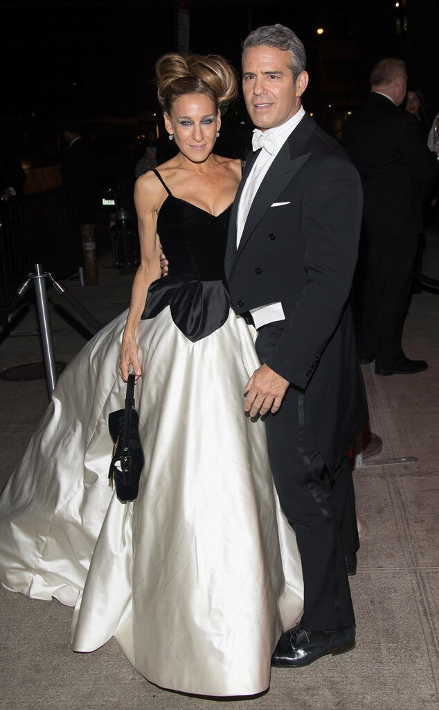 Andy Cohen, Sarah Jessica Parker, Met Gala After Party