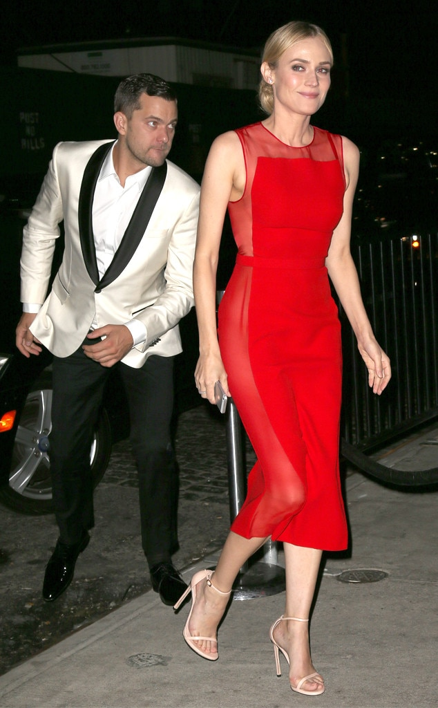 Joshua Jackson, Diane Kruger, Met Gala After Party