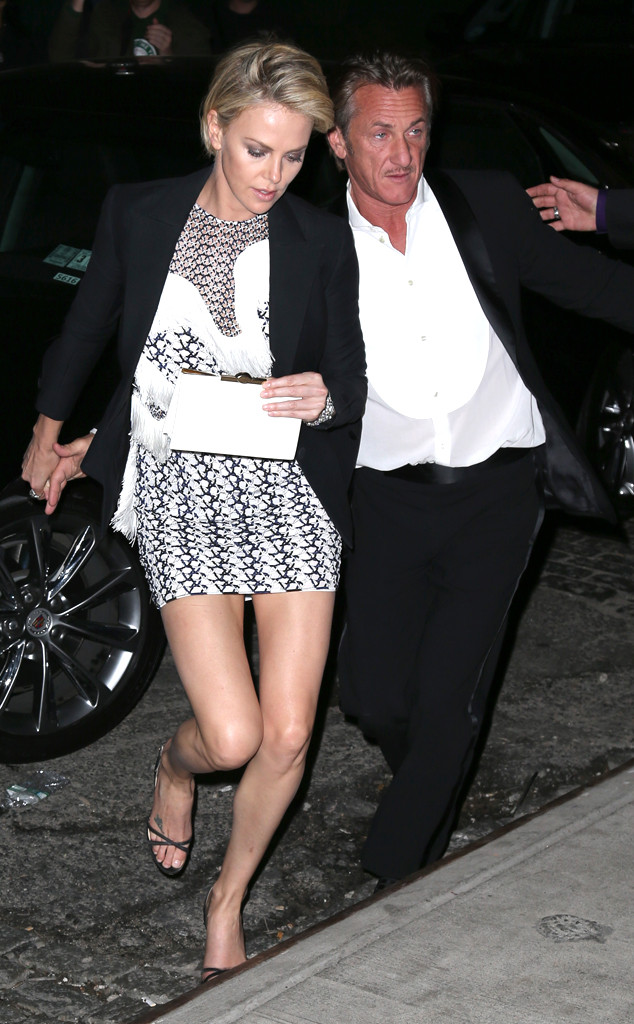 Charlize Theron, Sean Penn, Met Gala After Party