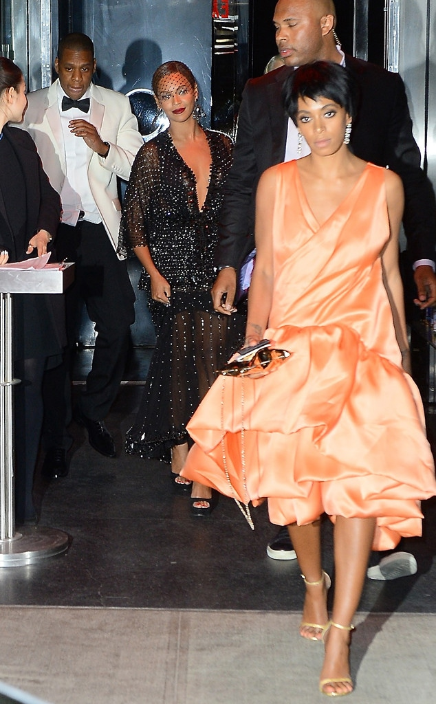 Beyonce, Jay-Z, Solange Knowles, Met Gala After Party, Biggest Moments in Pop Culture History