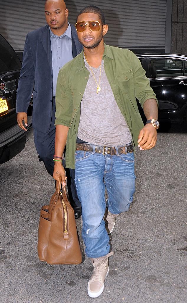 Usher, Man Bags