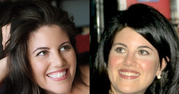 Monica Lewinsky S Glam Photo Shoot For Vanity Fair See Pics Of Her Then And Now E News