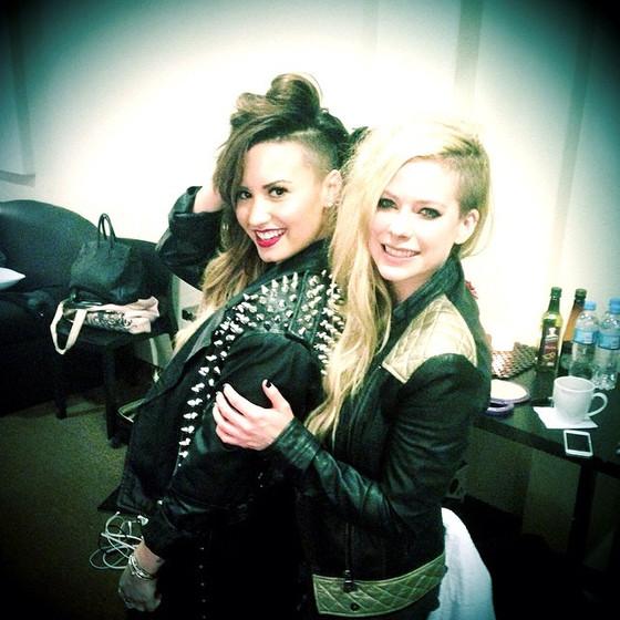 Demi Lovato, Avril Lavigne