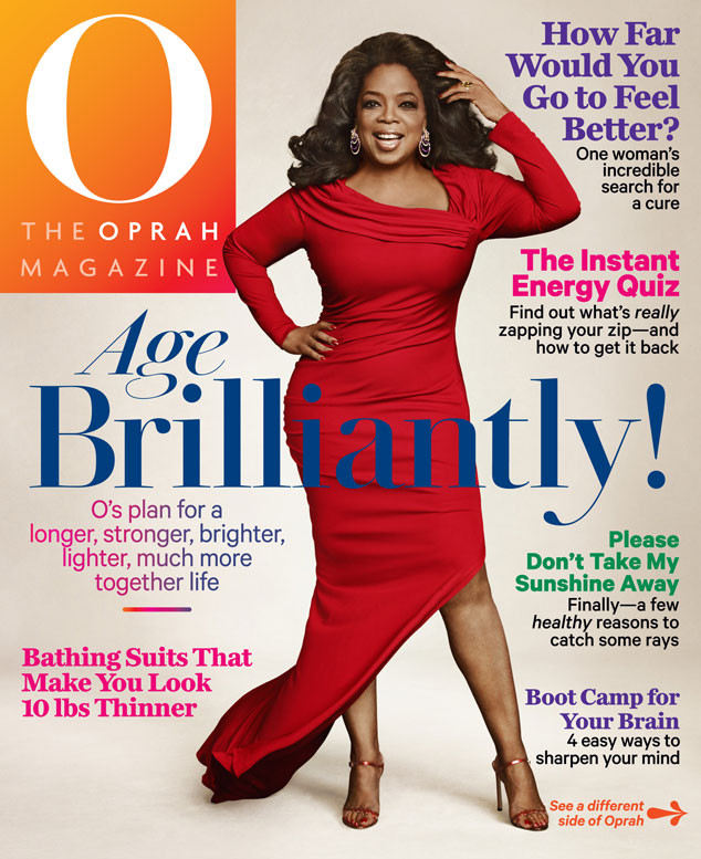 89fada9af405e Oprah Winfrey Shows Off Her Sizzling Curves at 60 on Front—and Back!—of O  Magazine