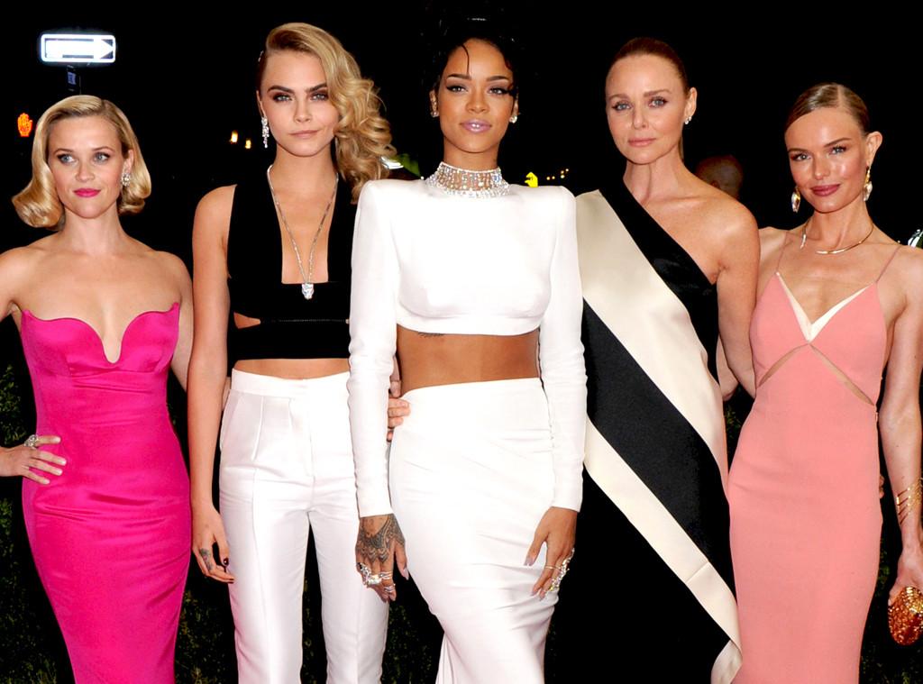 Reese Witherspoon, Cara Delevingne, Rihanna, Kate Bosworth, Stella McCartney