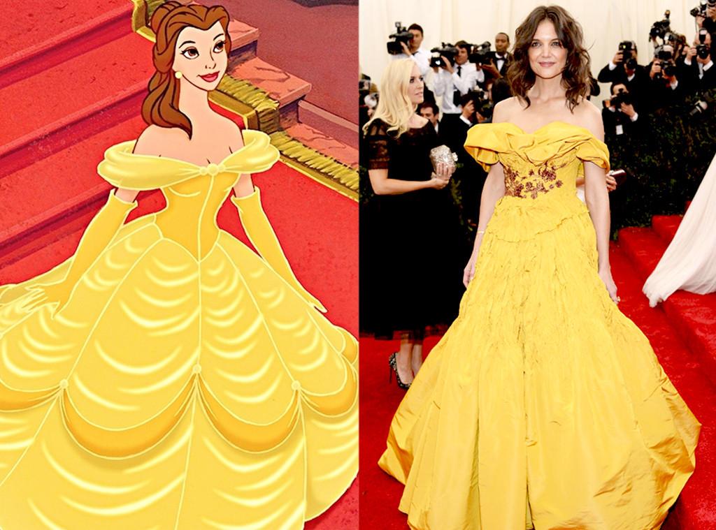Katie Holmes, Disney Princess Style
