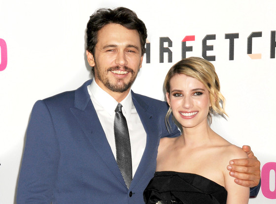James Franco, Emma Roberts