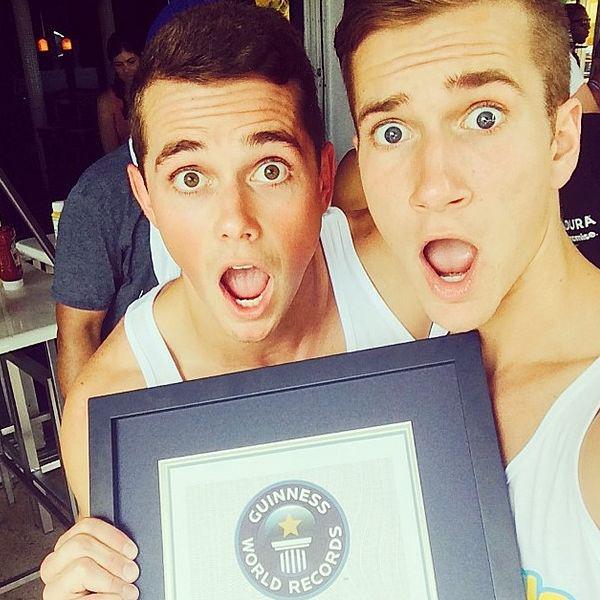 Mark E. Miller, Ethan Hethcote, selfies record