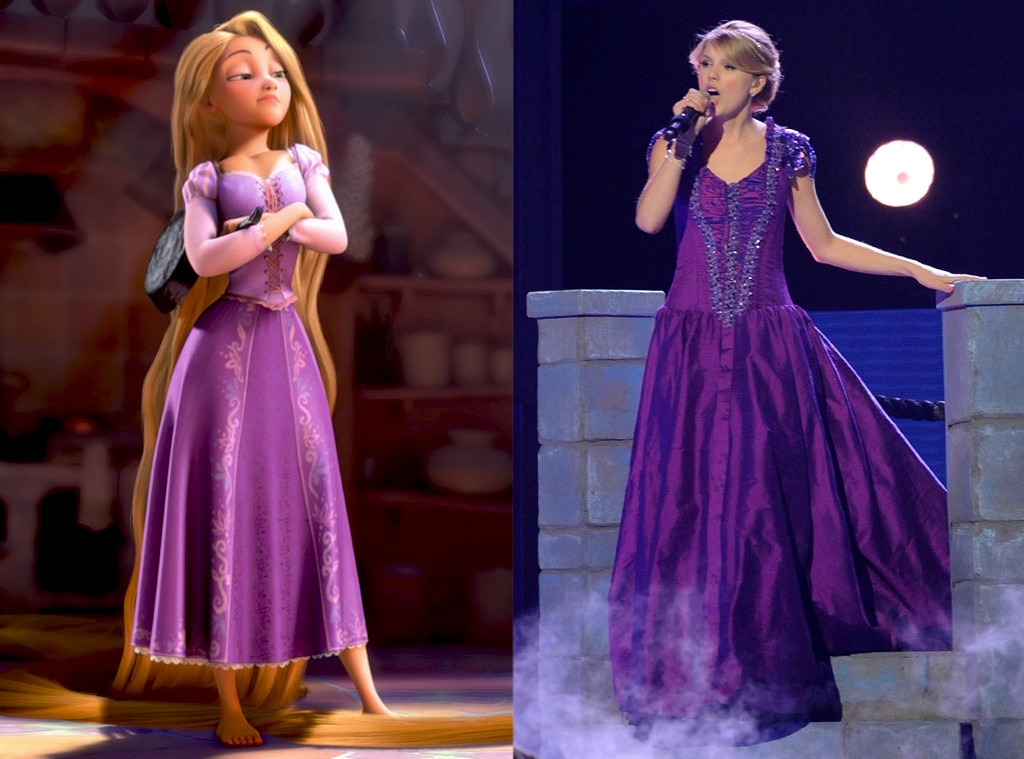 Taylor Swift From Stars 39 Disney Princess Style E News