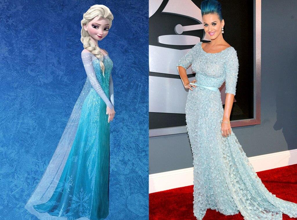 Katy Perry, Disney Princess Style