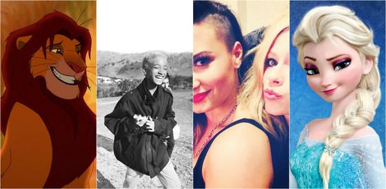 Willow Smith, Frozen, The Lion King, Demi Lovato, Avril Lavigne