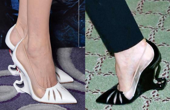 Angelina Jolie, Shoes