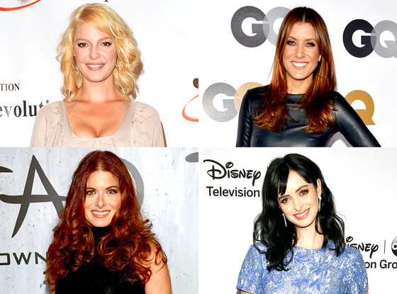 NBC: Katherine Heigl, Kate Walsh, Debra Messing, Krysten Ritter