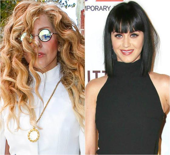 Katy Perry, Lady Gaga