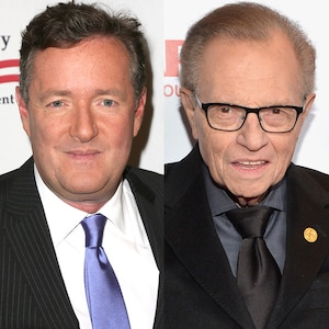 Larry King, Piers Morgan