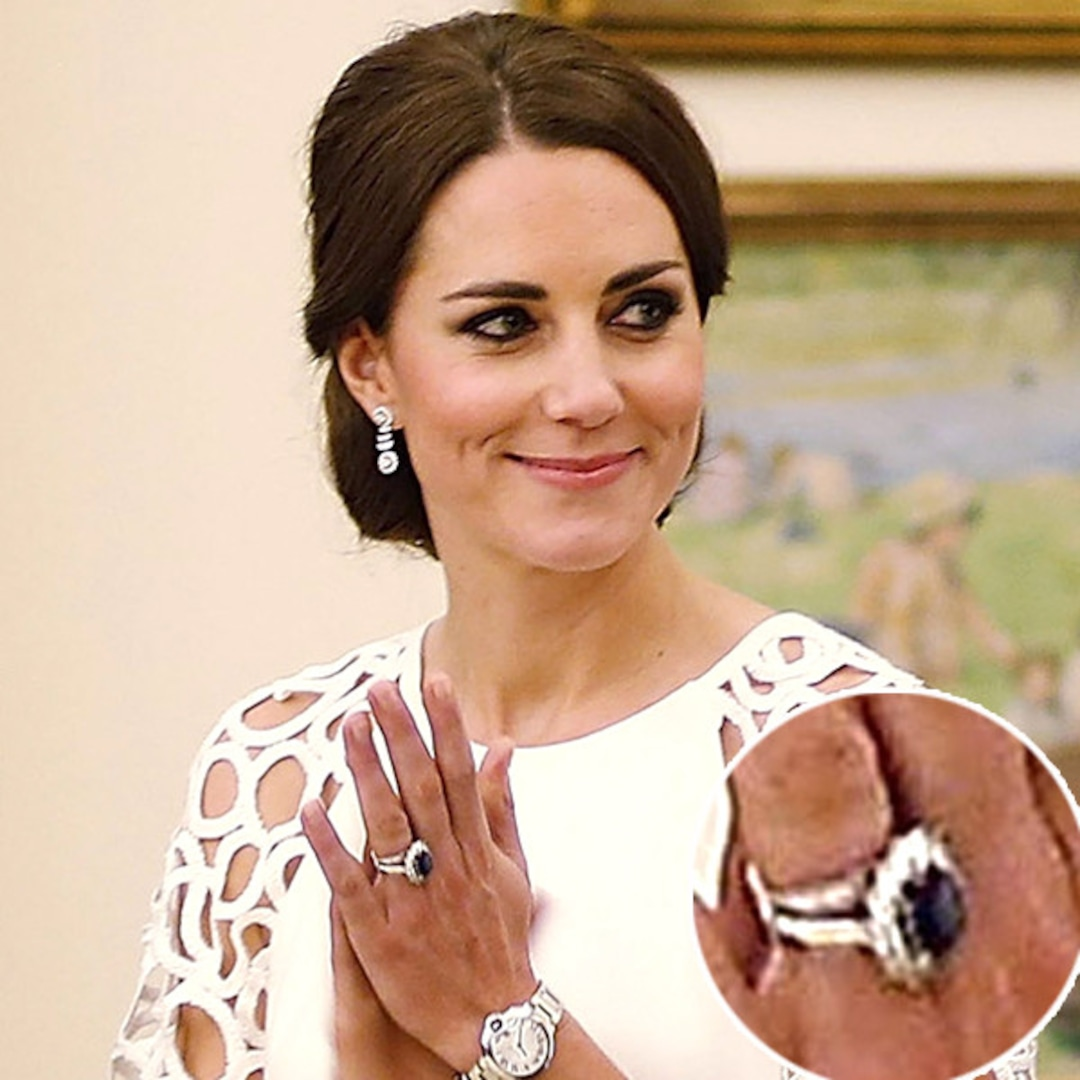 Find Out How Much Kate Middleton S Engagement Ring Is Really Worth E Online