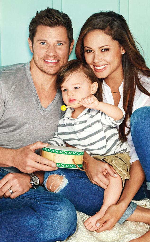 Nick Lachey, Vanessa Lachey, Camden, Parents Magazine