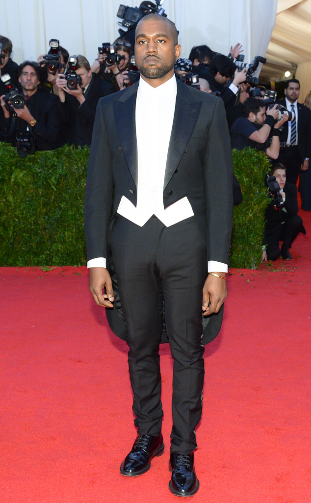 Kanye wests wedding tux possible designers and everything you need kanye west met gala junglespirit Choice Image