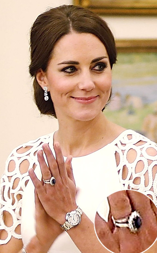 You Won T Believe How Much Kate Middleton S Enement Ring Is