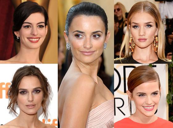 Rosie Huntington-Whitley, Anne Hathaway, Penelope Cruz, Emma Watson, Keira Knightley, Kate Lee