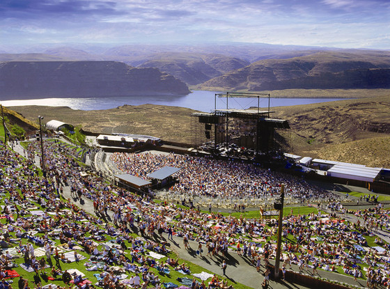 Best Music Venues, The Gorge, Washington