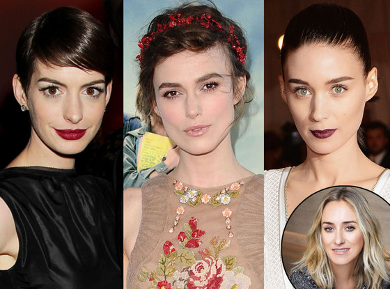 Kate Lee, Anne Hathaway, Keira Knightley, Rooney Mara