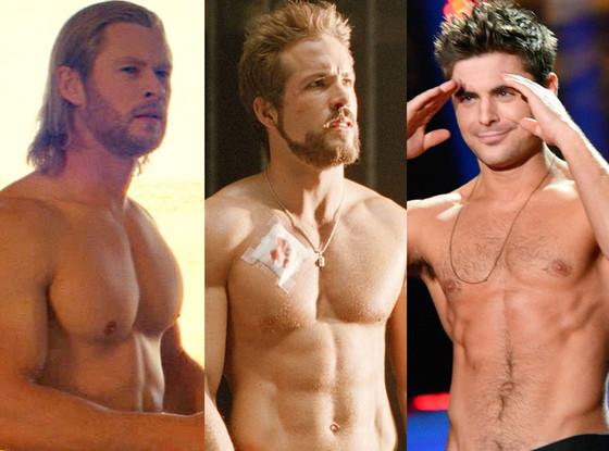Zac Efron, Chris Hemsworth, Ryan Reynolds
