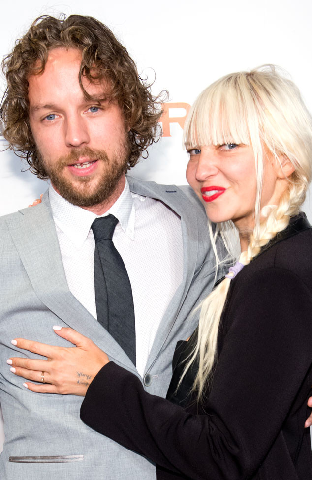 Sia, Erik Anders Lang, Engagement Ring