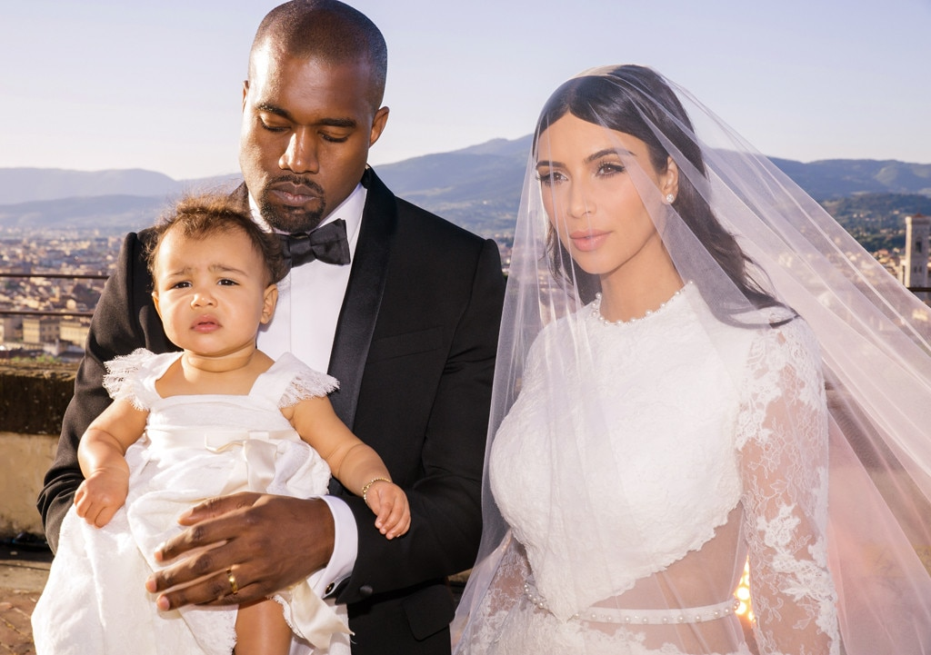 Family Pic! From Kim Kardashian & Kanye West's Cutest