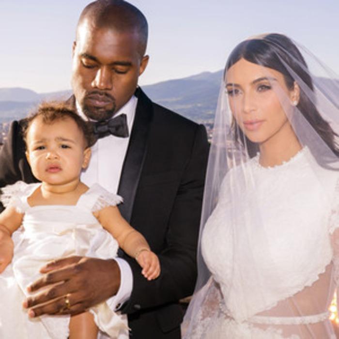 Kim Kardashian Wedding Album Exclusive: See New Photos of North, the ...