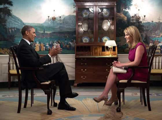 President Barack Obama, Jenna Bush Hager