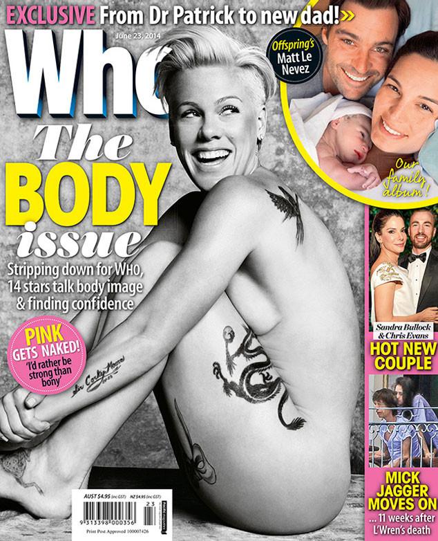 Pink, Who Magazine
