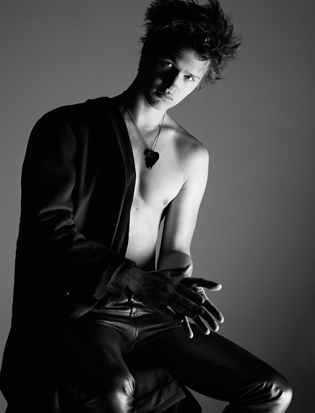 Ansel Elgort, Interview Magazine