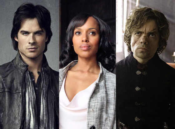 Peter Dinklage, Ian Somerhalder, Kerry Washington