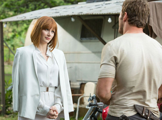Bryce Dallas Howard, Chris Pratt, Jurassic World