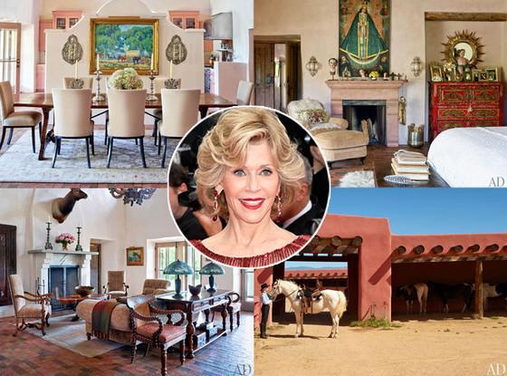 Jane Fonda, Home