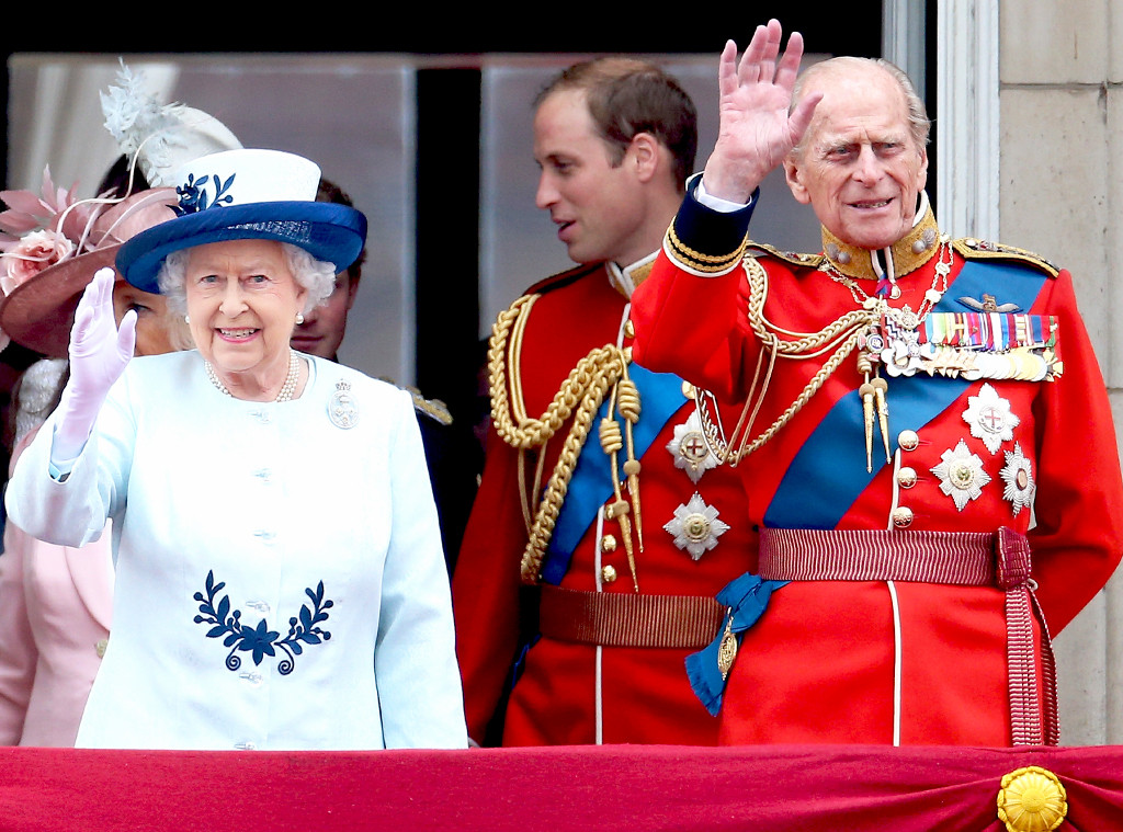 Trooping the Colour, Queen Elizabeth II, Prince Philip, Duke of Edinburgh