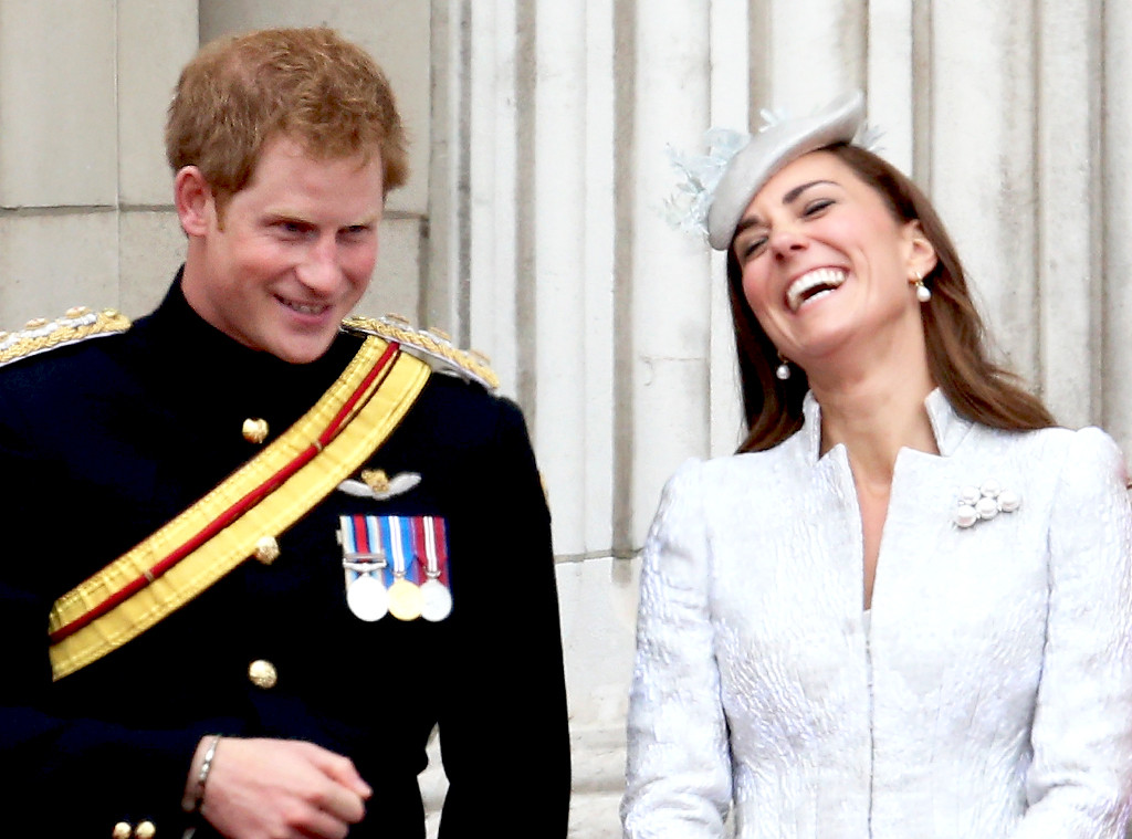 Prince Harry, Duchess of Cambridge, Kate Middleton, Trooping the Colour
