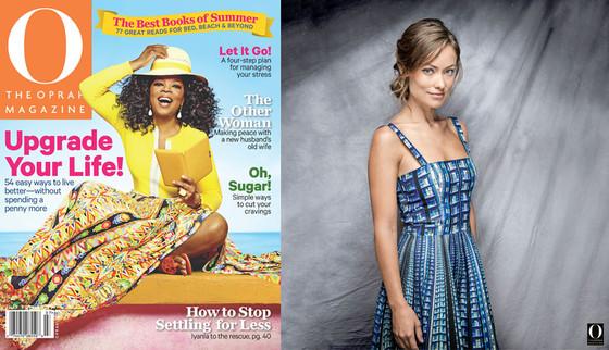 Olivia Wilde, The Oprah Magazine