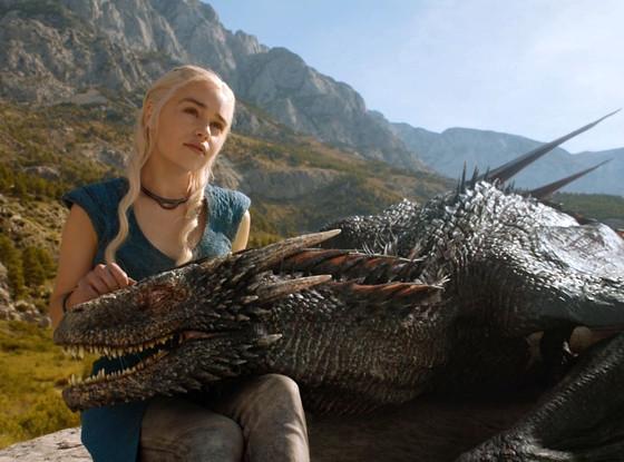 Game of Thrones, Emilia Clarke, Dragon