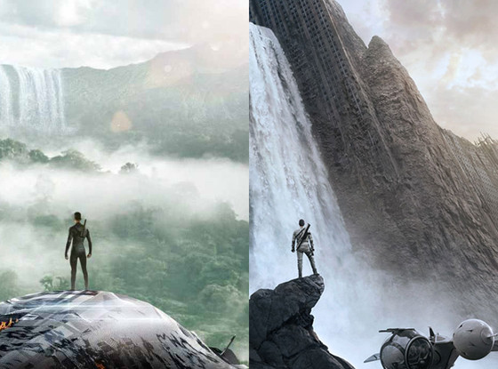 After Earth vs. Oblivion