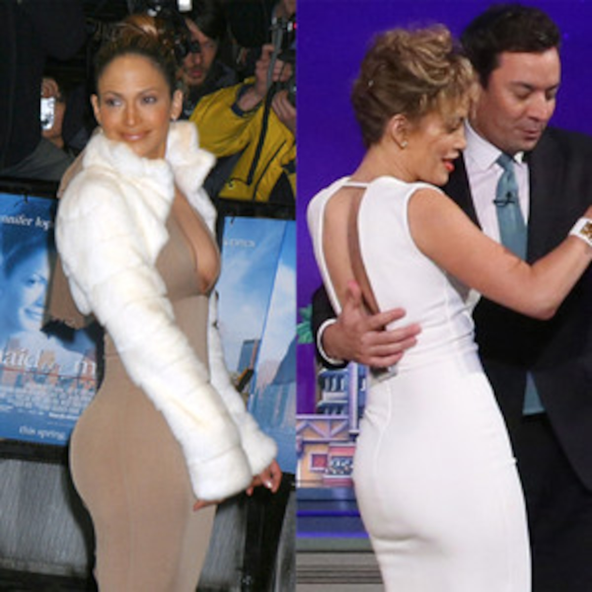 Jennifer Lopez Ass Pictures is j.lo's curvaceous booty shrinking? you decide! | e! news